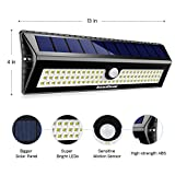 InnoGear Upgraded 77 LED Solar Lights Outdoor Motion Sensor Wall Light Auto On/Off with 3 Modes Outdoor Waterproof Security Lights Night Light for Wall Fence Deck Yard Garage Driveway, Pack of 2