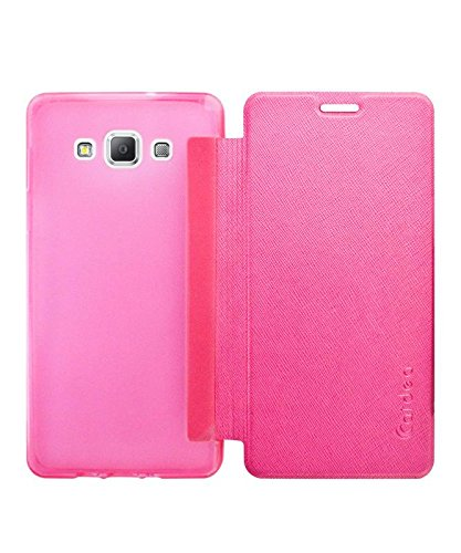 low priced 502b9 a611b COVERBLACK Flip Cover for Samsung Galaxy A7 - Pink: Amazon.in ...
