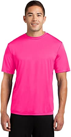 Amazon Com New Mens St350 Sport Tek Dri Fit Workout Running Short Sleeve T Shirt S 4xl Tee Neon Pink L Clothing You'll receive email and feed alerts when new items arrive. new mens st350 sport tek dri fit workout running short sleeve t shirt s 4xl tee neon pink l