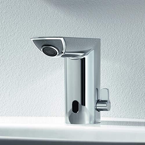 cromato DN 15 Miscelatore elettronico a infrarossi per lavabo Grohe BAU Cosmopolitan E 36451000 con limitatore di temperatura regolabile