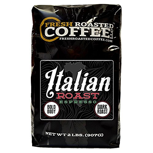(Fresh Roasted Coffee LLC, Italian Roast Espresso Coffee, Whole Bean, 2 Pound)