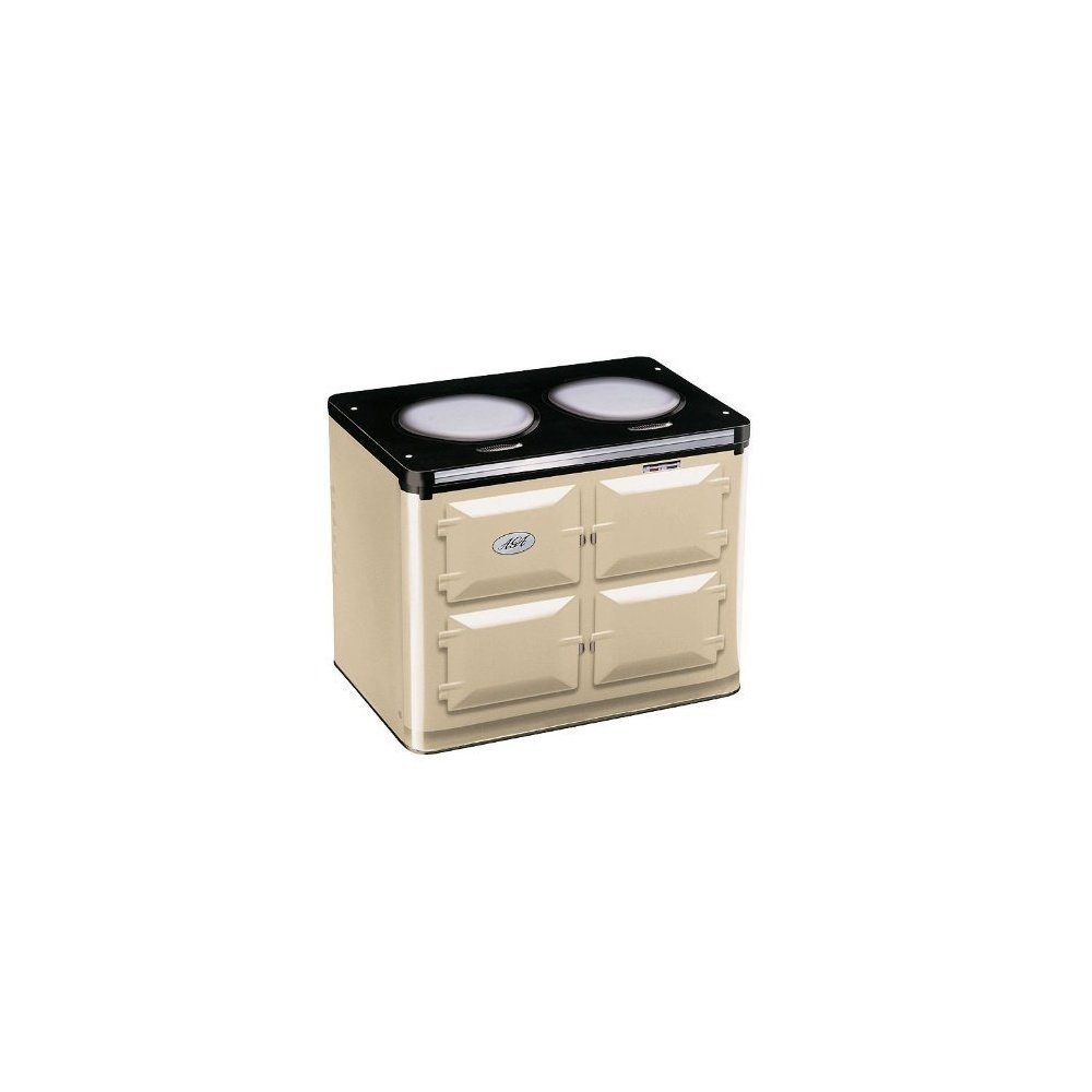 "Mini tin AGA range in cream, 6"" x 5"" x 7.6"""