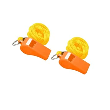 Sports Referee Whistles,Basketball Sports Training Referee Whistle,Camping Survival Emergency Lifesaving Whistles for School Sports,Emergency Coaches' & Referees' Gear Accessories Coach Whistle