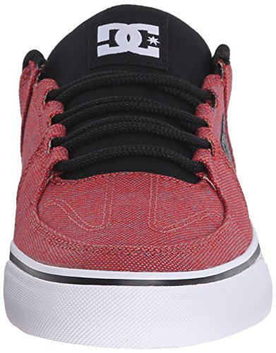 DC Shoes - Zapatillas de skateboarding de Lona para hombre - Red Heather