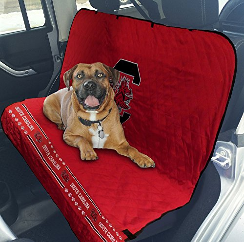 Pets First Collegiate South Carolina Gamecocks Pet Car Seat Cover