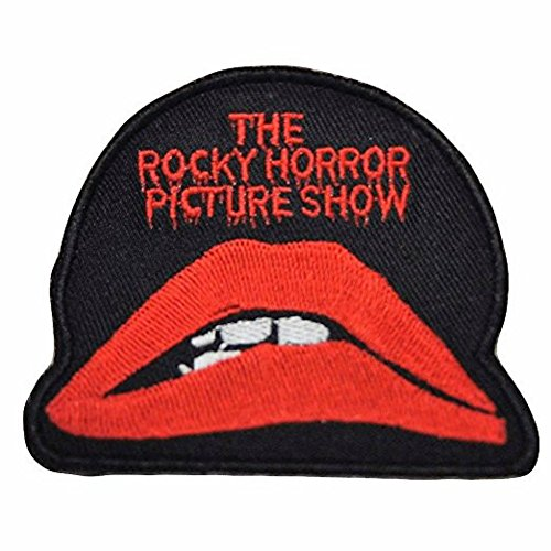 Rocky Horror Picture Show Logo Embroidered Iron on Patch - Rocky Horror Picture Show Costumes For Kids