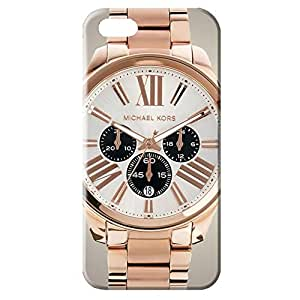 Custom Design 3D cool design hard case bling michael kors gold watch pattern For Iphone 5/5S_rose gold style