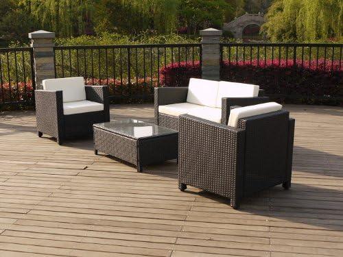 Chalet-Jardin Conjunto bajo Atlanta Compuesto D 1 Mesa + 2 sillas ...