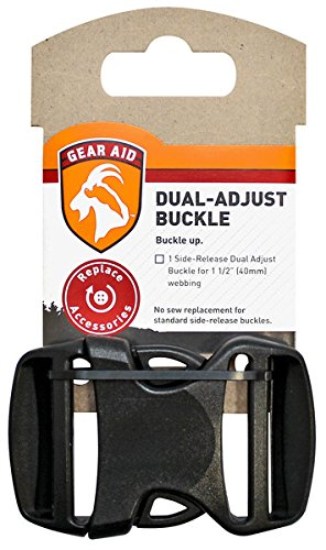 Gear Kit Aid (Gear Aid Dual Adjust Buckle Kit, 1.5 Inch)
