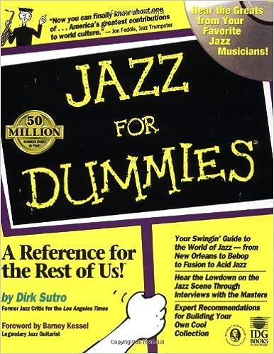 Jazz For Dummies: Dirk Sutro, Barney Kessel: 9780764550812: Books ...