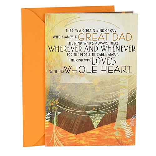 Hallmark Father's Day Greeting Card (Loves with His Whole Heart)