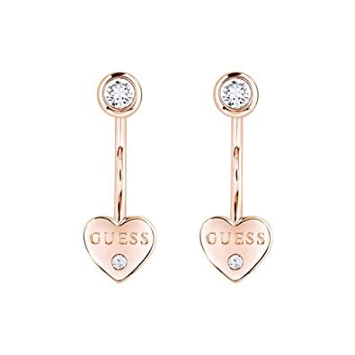 58872a669 Ladies Guess Gold Plated Guessy Earrings UBE82006: Guess: Amazon.co.uk:  Jewellery