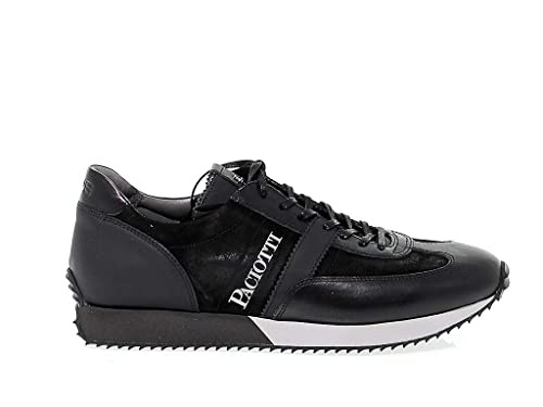 Pelle Cesare 4USIU1150 Uomo 4Us Amazon Paciotti Sneakers it Nero vqrqCUX