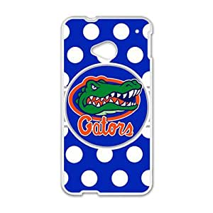 Gators White htc m7 case wangjiang maoyi