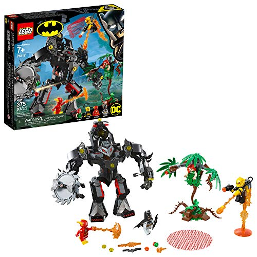 LEGO DC Batman: Batman Mech vs. Poison Ivy Mech 76117 Building Kit, 2019 (375 Pieces) (Lego Minifigure Kid Flash)