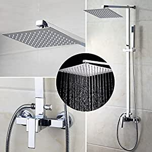 Ouboni European Style Shower Faucet System Rainfall Shower