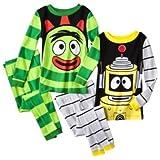 Yo Gabba Gabba Little Boys Brobee & Plex Long-Sleeve Pajama Set, Multi, 4T