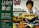 img - for Lickety Split Meals For Health Conscious People On The Go! by Foco, Zonya (January 1, 1998) Ring-bound 1 book / textbook / text book