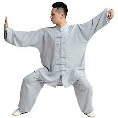 BOZEVON Tai Chi Uniform Clothing - Martial Arts Fitness Wear