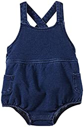 Splendid Baby Girls\' Knit Bubble Romper (Baby) - Med Stone - 0-3 Months