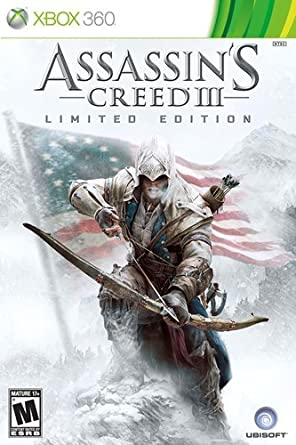Amazon Com Assassin S Creed Iii Limited Edition Xbox 360 Video