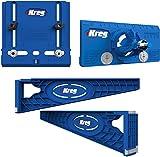 Kreg Tool Company - Drawer Slide Jig with Cabinet Hardware Jig and Concealed Hinge Jig - KHI-SLIDE, KHI-PULL, KHI-HINGE