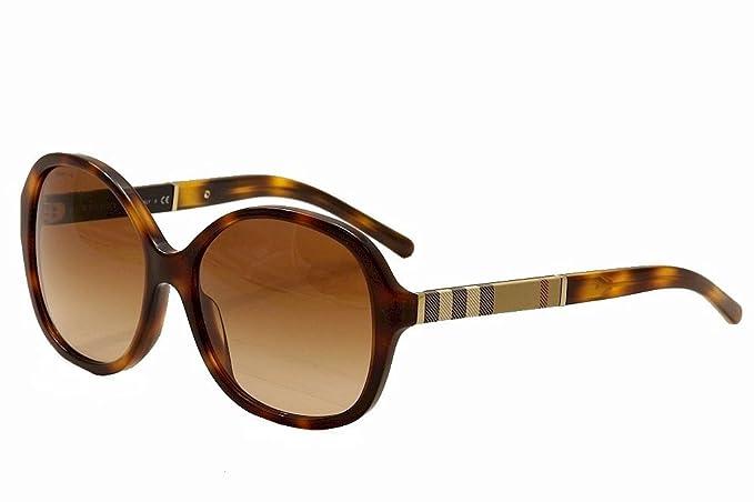 fdd0bc8d4 Burberry Women's BE4178 BE/4178 3316/13 Light Havana Sunglasses 58mm ...
