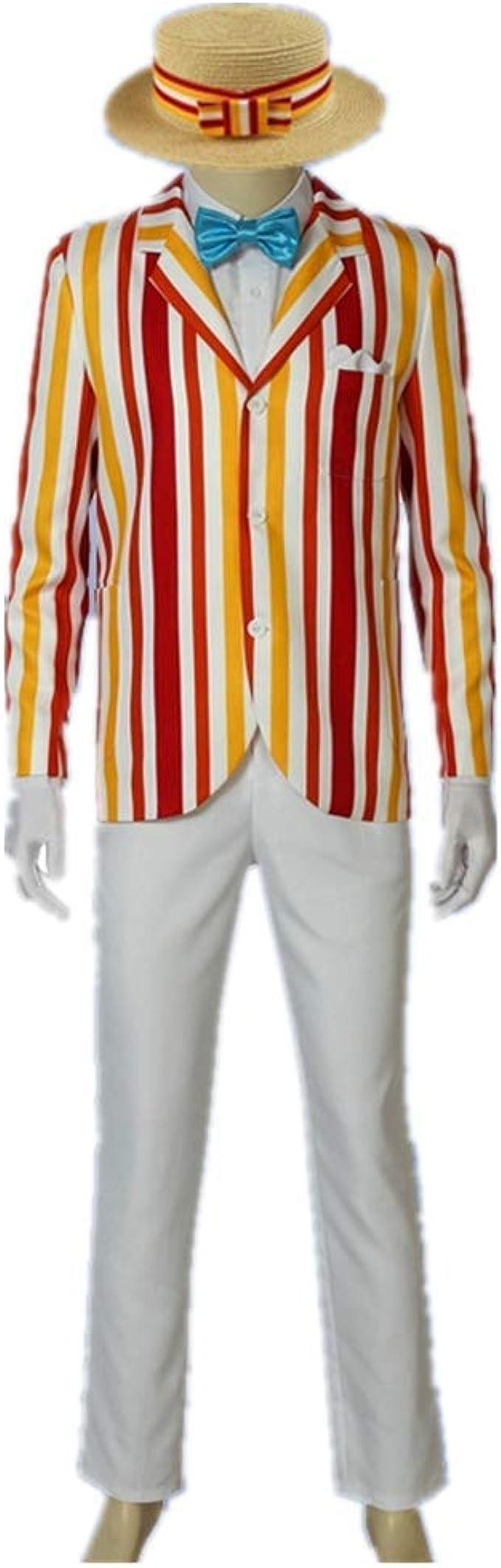 Disfraz de Bert de Mary Poppins para Cosplay, Disfraz Unisex Large ...