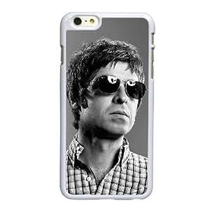High Flying Birds M8M9SJ Funda iPhone 6 6S 4,7 pulgadas del teléfono celular funda blanca Noel Gallagher