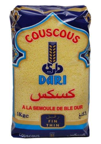 Dari Medium Moroccan Couscous 1kg ( 1 Pack )