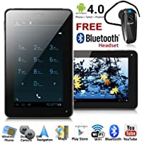 UNLOCKED! 7in LCD Phablet Android 4.0 Tablet PC Smart Phone - FREE Bluetooth NEW