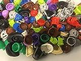 Authentic Lego Minifigure Parts Helmet Hair Hats (15 Lego Parts)