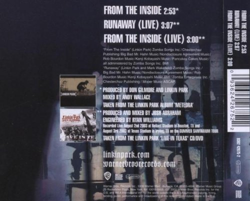 amazon from the inside linkin park 輸入盤 音楽