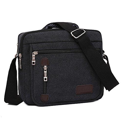 Bolsas de lona para hombres, Kukul Bolsos de hombro - 2017 Men's Crossbody Bag (26.5CM*10.5CM*23CM) B