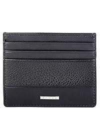 Cross® Men's 100% Genuine Leather Credit Card Case- Black