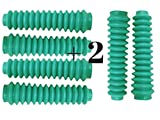 6 Shock Boots TEAL Fits Most Aftermarket Shocks for Jeeps, Trucks, SUV, and Universal Off Road Vehicles