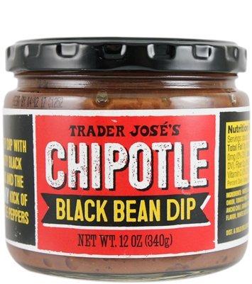 (Trader Joe's Chipotle Black Bean Dip NET WT. 12 OZ (340g))