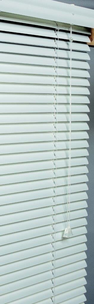 Lotus & Windoware AM1072WH 1-Inch Wide Aluminum Blind, 10 by 72-Inch SAN FIT