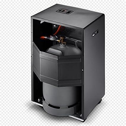 Rowi - Caldera de gas llama azul, antracita, 4200 vatios, termostato, pro: Amazon.es: Bricolaje y herramientas