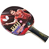 Butterfly RDJ S6 Table Tennis Racket – ITTF Approved Ping Pong Paddle – Ping Pong Racket Thick Sponge Better Speed