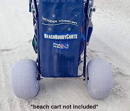 StoreYourBoard Reemplazo de Ruedas de Globo de 12 Pulgadas Kayak Dolly y carros de Arena neum/áticos inflables Big Beach Buggy