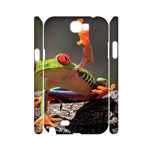 3D Samsung Galaxy Note 2 Dustin rana casos rígido para ...
