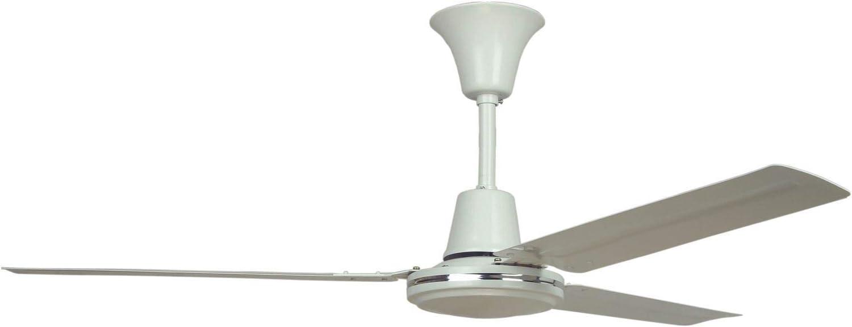 Sulion Ventilador de Techo Serie Meteor Color Blanco: Amazon.es: Hogar