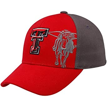 release date 2832f e057e NCAA Top of the World Texas Tech Red Raiders Youth Scarlet-Gray Audible One-