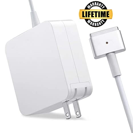Amazon.com: Cargador de aire para MacBook, 45W Magsafe 2 ...