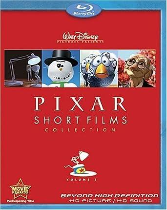 Amazon Com Pixar Short Films Collection Volume 1 Blu Ray By Walt
