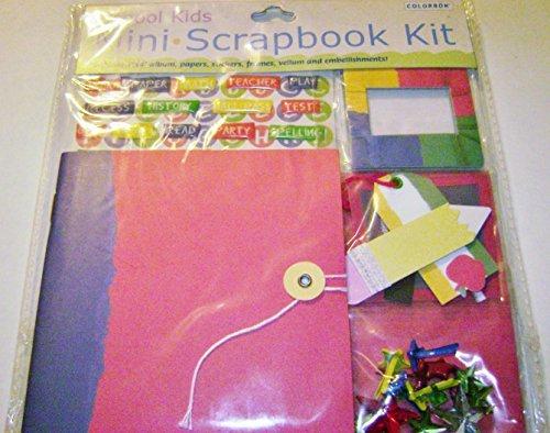 - Colorbok Mini Scrapbook Kit School Kids #16530