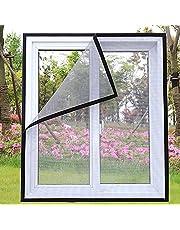Universeel Venster Transparant Vliegenhor Venster Vliegenhor 150x200cm transparant horrengaas Eenvoudige installatie zonder boren