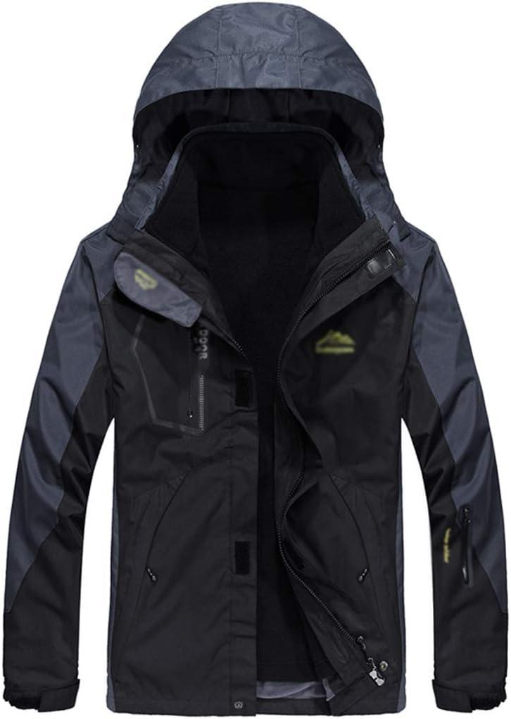zxwZXW Mens Fleece Jacket Full Zip Regatta Military Tactical Waterproof Outdoor Coat Softshell Breathable Windbreaker Warm Windproof Sweatshirt,Blue-4XL