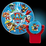 Projectables 30604 Paw Patrol LED Plug-In Night Light, Blue and Red, Light Sensing, Auto On/Off, Projects Nickelodeon Paw Patrol Image on Ceiling, Wall, or Floor